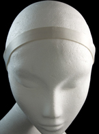 White Cloth Headband
